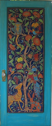 Tree of Life Door Mural