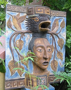 Mayan Berth birdhouse