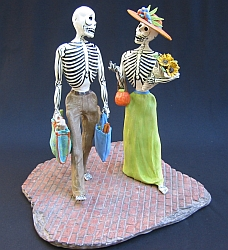 Days of the Dead sculpture