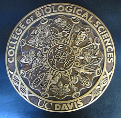 College of Biological Sciences, UC Davis medal
